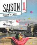 Alcazar Marion, Escufier Dorothee, Gomy Camille - Saison 1 Ćwiczenia + CD Audio poziom A1-A2