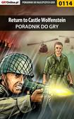 Krzysztof 'Sukkub' Szulc - Return to Castle Wolfenstein - poradnik do gry