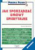 Kryszyński A. - Jak sporządzać umowy emerytalne