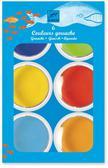 Farby akwarelowe 6 kolorów