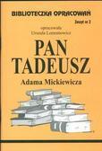 Urszula Lementowicz - Biblioteczka opracowań nr 002 Pan Tadeusz