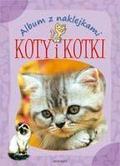 Podgórska Anna - Album z naklejkami - Koty i kotki