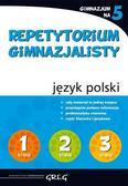 Mariola Rokicka - Repetytorium Gimnazjalisty język polski GREG