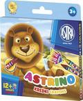 Kredki Astrino 12 + 2 kolory gratis