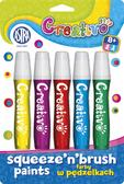 Farby w pędzelku Astra Creativo 5 kolorów