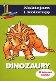 Aleksander Małecki - Naklejam i koloruję - Dinozaury