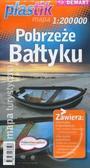 Praca zbiorowa - Pobrzeże Bałtyku PLASTIK mapa