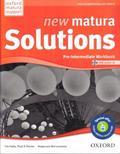 Falla Tim, Davies Paul, Wieruszewska Małgorzata - Matura Solutions NEW Pre-intermed. 2E WB PL OXFORD