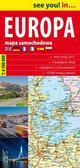 praca zbiorowa - See you! in... Europa 1: 4 500 000 mapa