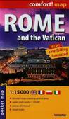 praca zbiorowa - Comfort!map Rzym and Watykan 1:15 000 plan miasta