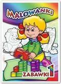 praca zbiorowa - Malowanki Zabawki 1 LIWONA