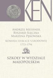 Komisja Edukacji Narodowej 1773-1794 Szk