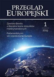 Przegląd Europejski 1/2019