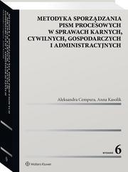 Metodyka sporządzania pism procesowych w