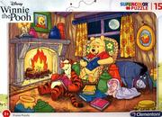 Puzzle ramkowe 15 SuperColor Winnie The