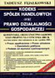 Kodeks spółek handlowych oraz prawo dzia