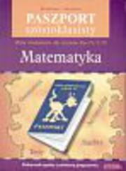 Paszport szóstoklasisty Matematyka