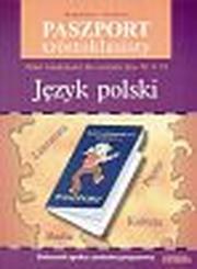 Paszport szóstoklasisty Język polski