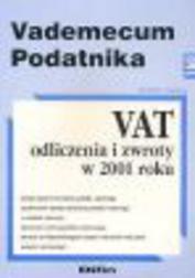 VAT - odliczenia i zwroty w 2001 roku