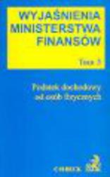 Wyjaśnienia Ministerstwa Finansów. Tom 3