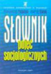 Słownik pojęć socjologicznych