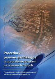Procedury prawno-geodezyjne w gospodarce